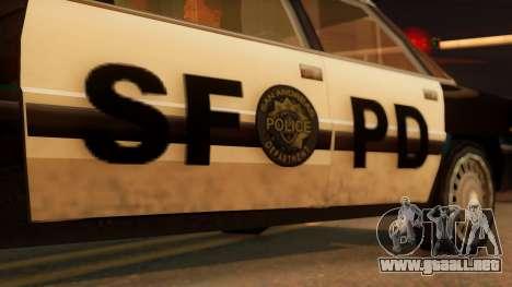 Police SF Intruder para la visión correcta GTA San Andreas