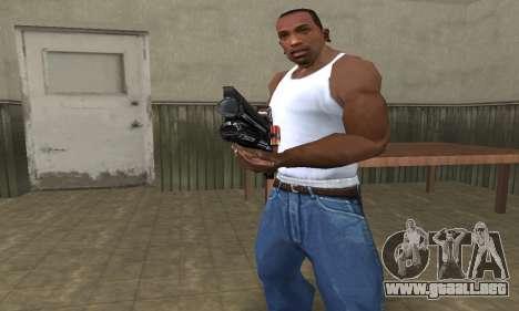 Shotgun HD para GTA San Andreas segunda pantalla
