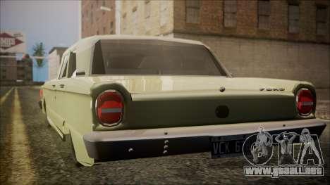Ford Falcon 3.0 para GTA San Andreas left