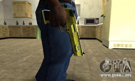 Sponge Bob Deagle para GTA San Andreas