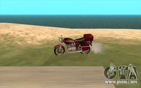 VPH-1000 Civil para GTA San Andreas vista hacia atrás