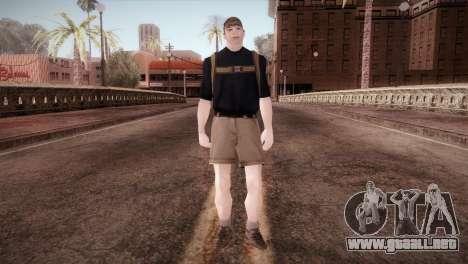Colegial para GTA San Andreas segunda pantalla