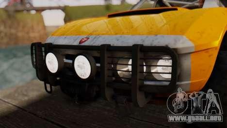 Coil Brawler Gotten Gains para las ruedas de GTA San Andreas