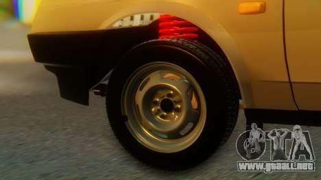 VAZ 21099 Stoke para GTA San Andreas vista posterior izquierda