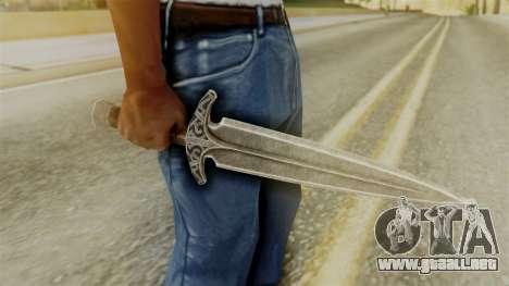 Steel Dagger para GTA San Andreas segunda pantalla