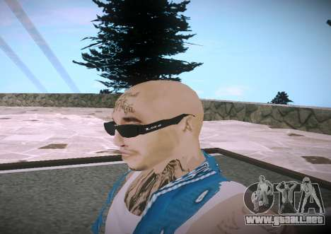Asesinos Loco HQ Skin para GTA San Andreas tercera pantalla
