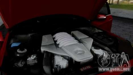 Mercedes-Benz W212 E63 AMG para visión interna GTA San Andreas