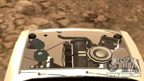 HUNTER 2106 Ostentum para la visión correcta GTA San Andreas