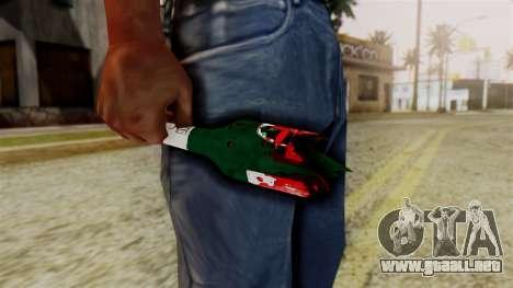 GTA 5 Broken Bottle v2 para GTA San Andreas segunda pantalla