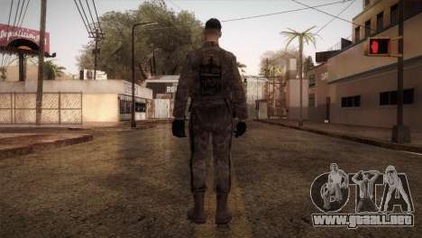 Army MARPAT para GTA San Andreas tercera pantalla
