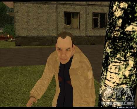 Sin Hogar Compota para GTA San Andreas tercera pantalla