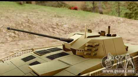 KTO Rosomak M1M Desert para la visión correcta GTA San Andreas