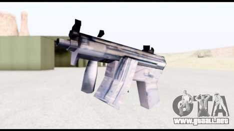 MP5-K from GTA Vice City para GTA San Andreas