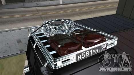 VAZ 2121 Niva Offroad para GTA San Andreas vista hacia atrás