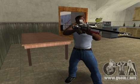 American Sniper para GTA San Andreas tercera pantalla