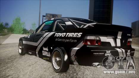 BMW M3 E36 GT-Shop para GTA San Andreas left