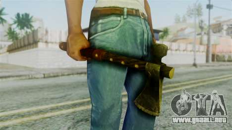 Tomahawk from Silent Hill Downpour para GTA San Andreas tercera pantalla