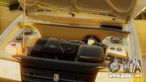 VAZ 21099 Stoke para la vista superior GTA San Andreas