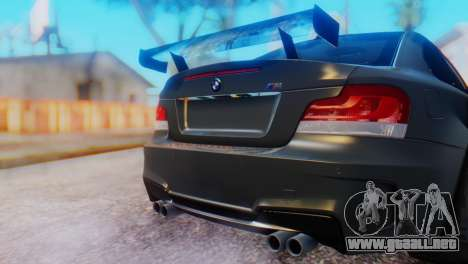 BMW M1 Tuned para GTA San Andreas vista hacia atrás