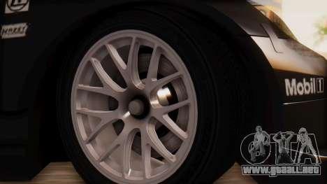 Porsche 911 RSR para GTA San Andreas vista posterior izquierda