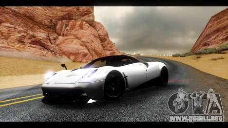 MAC_True ENB [el 0,248] para GTA San Andreas twelth pantalla