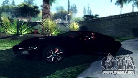 Dark ENB Series para GTA San Andreas segunda pantalla