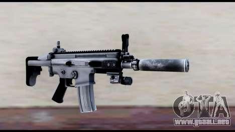MK16 PDW Standart Quality v1 para GTA San Andreas