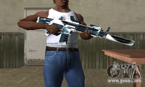 Two Lines M4 para GTA San Andreas