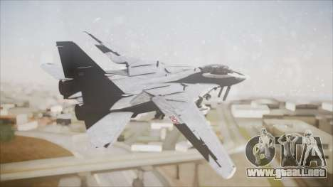 F-14B Bombcat VF-11 Red Rippers para GTA San Andreas left