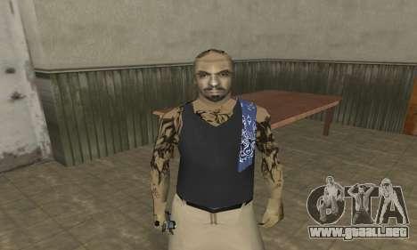 Rifa Skin Third para GTA San Andreas