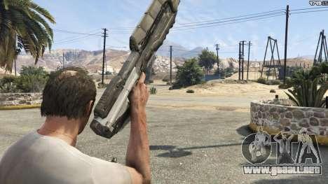 GTA 5 Halo UNSC: Assault Rifle quinta captura de pantalla