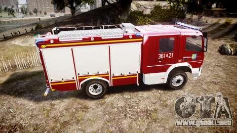 Mercedes-Benz Atego 1530 Firetruck [ELS] para GTA 4 left