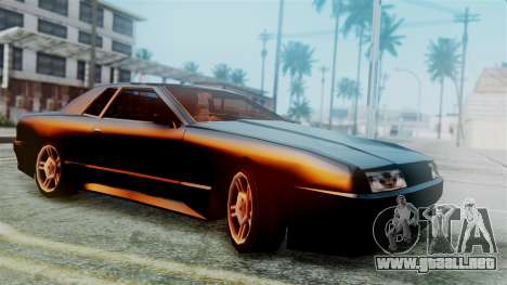 Elegy New Edition para GTA San Andreas vista hacia atrás