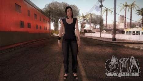 Mecgrl HD Model para GTA San Andreas segunda pantalla