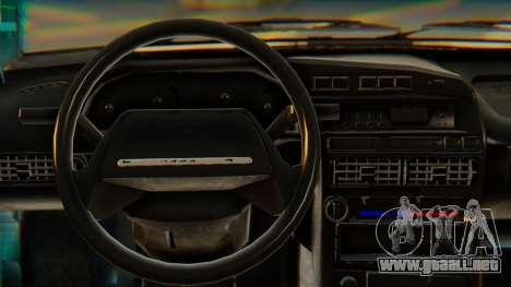VAZ 21099 Stoke para la visión correcta GTA San Andreas