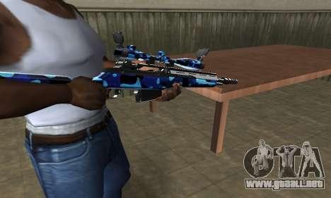 Water Sniper Rifle para GTA San Andreas