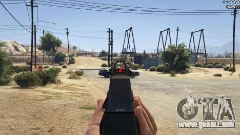 GTA 5 Combat HUD 1.0.2 tercera captura de pantalla
