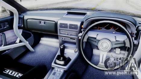 Mazda RX-7 (FC) para GTA San Andreas vista posterior izquierda