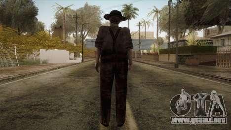 RE4 Don Diego para GTA San Andreas tercera pantalla