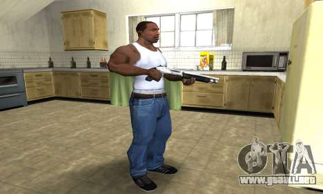Silver Shotgun para GTA San Andreas tercera pantalla
