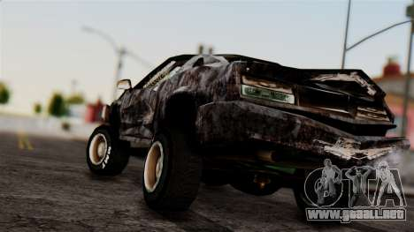 Post-apocalyptic Buffalo para GTA San Andreas left