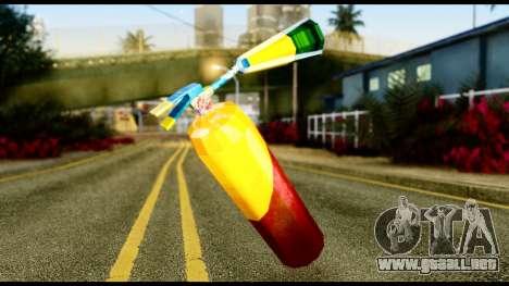 Brasileiro Fire Extinguisher para GTA San Andreas segunda pantalla