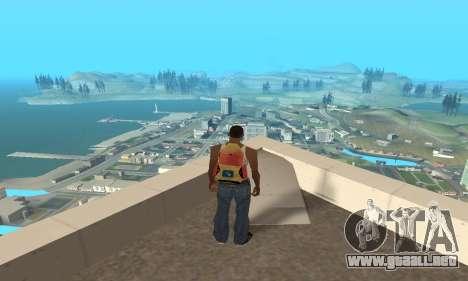 Aumentar el rango de vectorización para GTA San Andreas segunda pantalla
