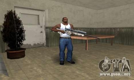 Sniper War para GTA San Andreas segunda pantalla