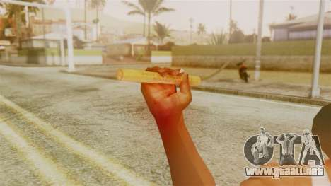 Red Dead Redemption TNT Sergio para GTA San Andreas tercera pantalla
