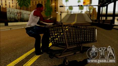 El carro en el supermercado para GTA San Andreas left