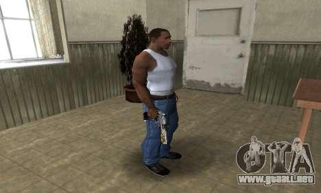Flame Deagle para GTA San Andreas tercera pantalla