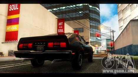 MAC_True ENB [el 0,248] para GTA San Andreas quinta pantalla