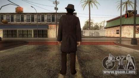 Sherlock Holmes v2 para GTA San Andreas tercera pantalla