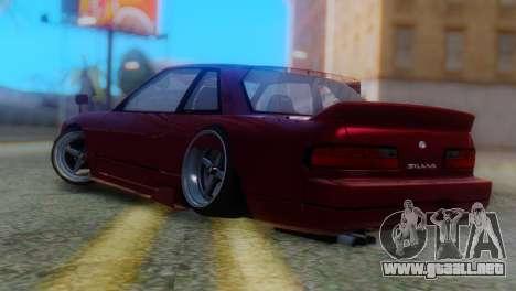 Nissan Silvia S13 Shakotan para GTA San Andreas left